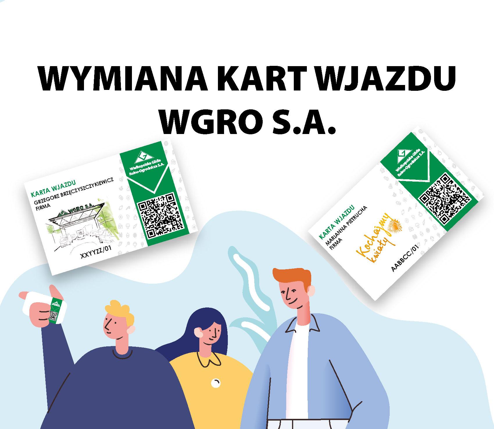 Nowe Karty Wjazdu Wgro S A Wgro Wgro